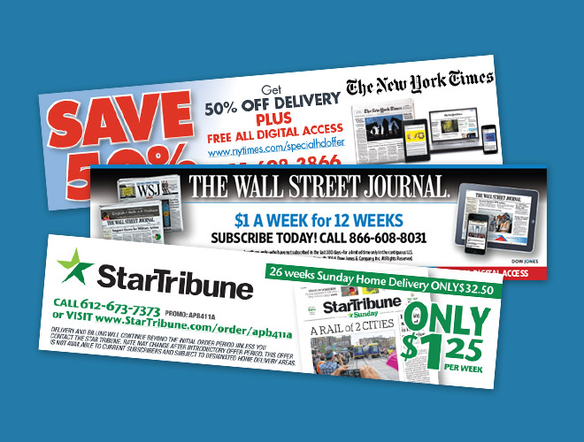 Nss Point Of Sale Coupon Newspaper Subscription Services